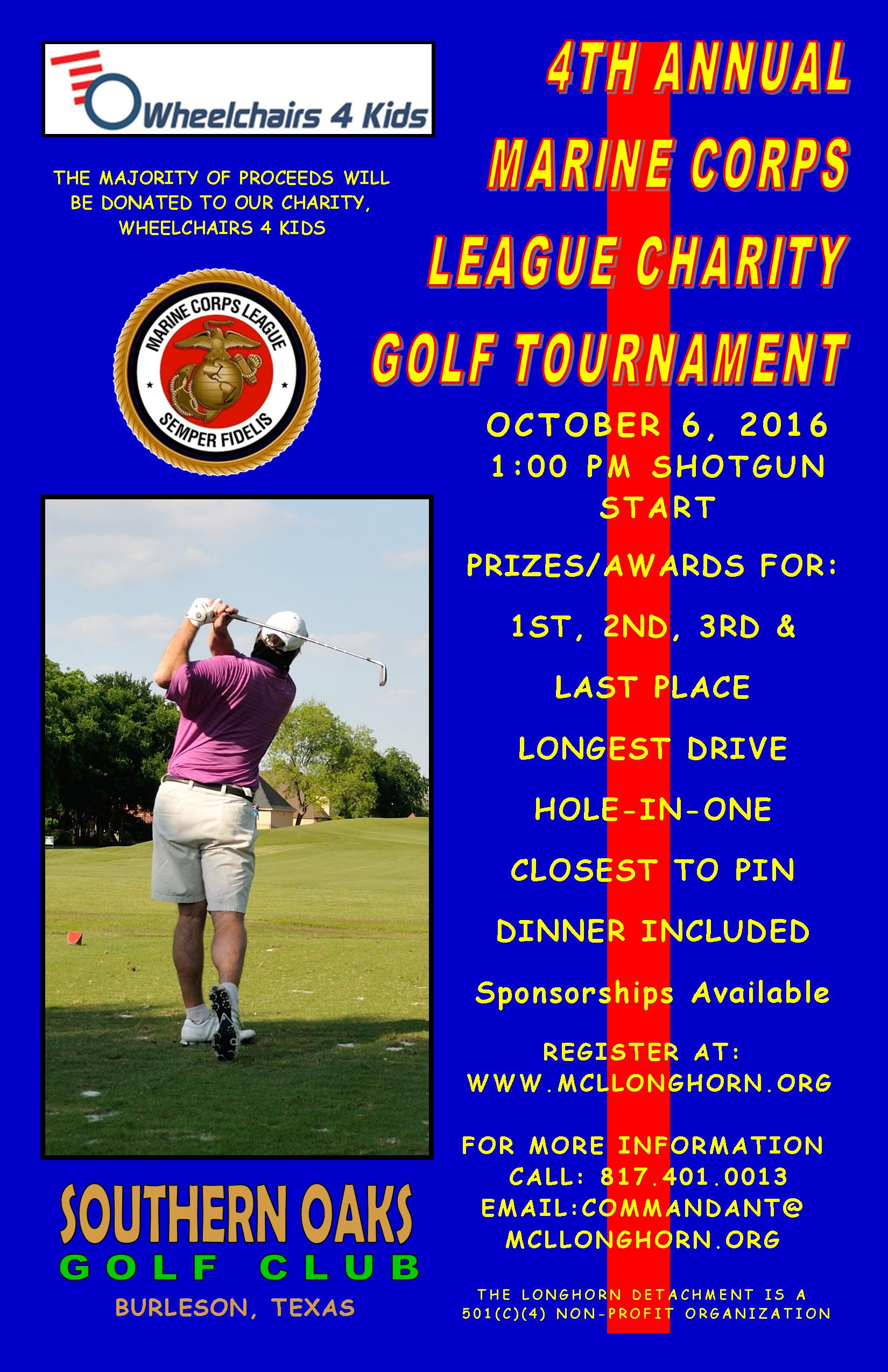 20161006 Golf Tournament Poster 11x17