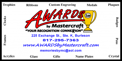 Awards by Mastercraft